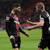 Alario le dio la victoria al Bayern Leverkusen