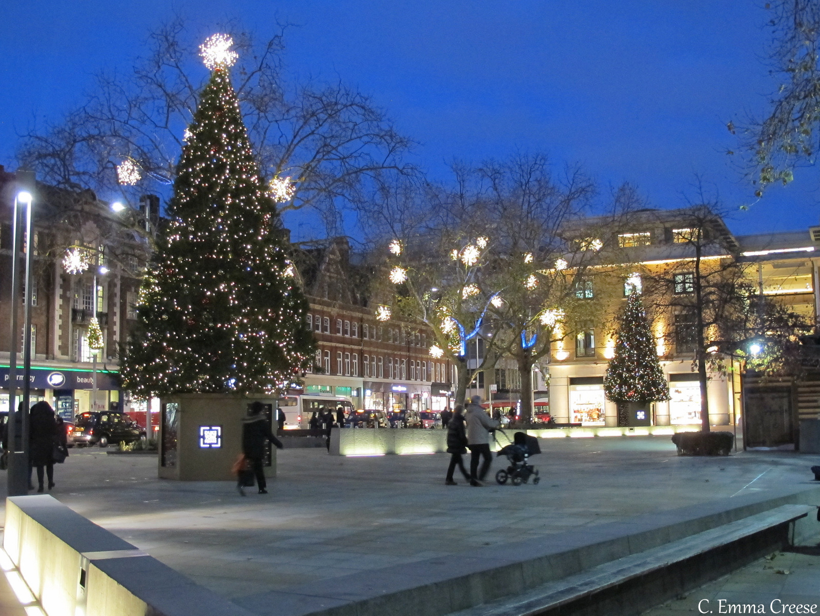 Duke of York Square Christmas Fun in Chelsea