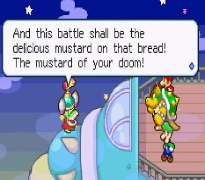 Fawful mustard of your doom Mario Luigi Superstar Saga screenshot
