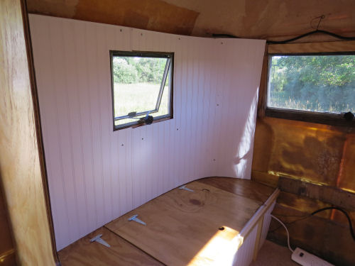 curved interior fiberglass trailer wall