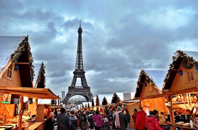 Navidad en París, viajes y vuelos