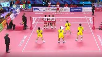Sepak Takraw Putra Tambah Medali Emas Indonesia di Asian Games 2018