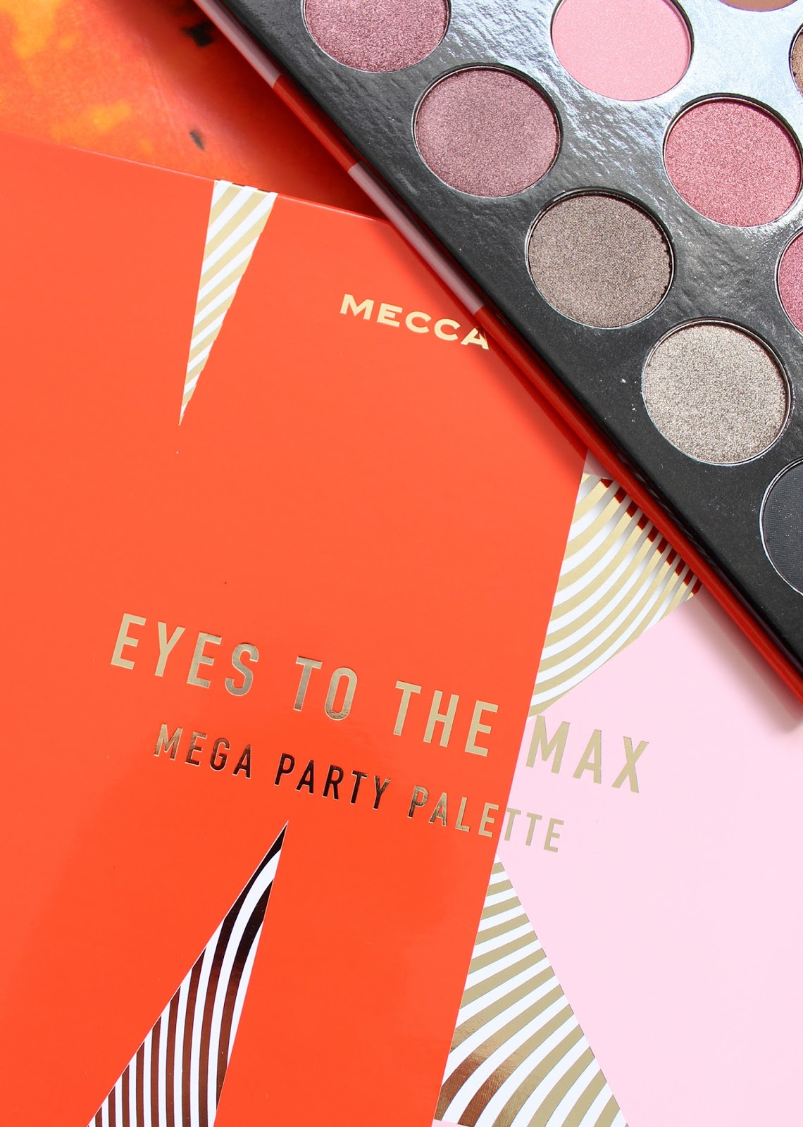 MECCA MAX | Eyes To The Max Mega Party Palette - Review + Swatches - CassandraMyee