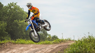 Wallpaper: Motocross at Abbott Sports Complex