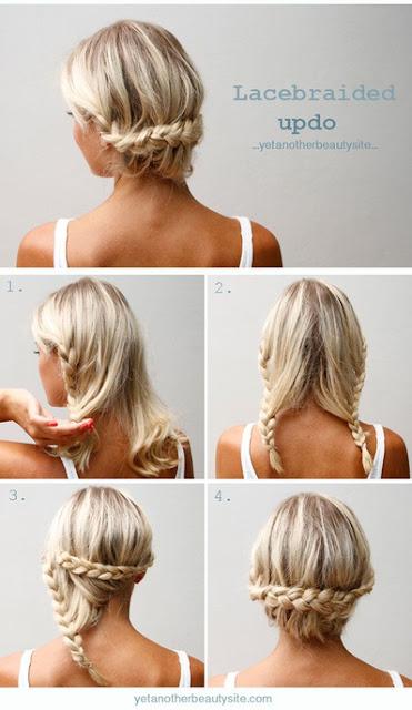 se coiffer en 5 minutes tutorial cheveux longs