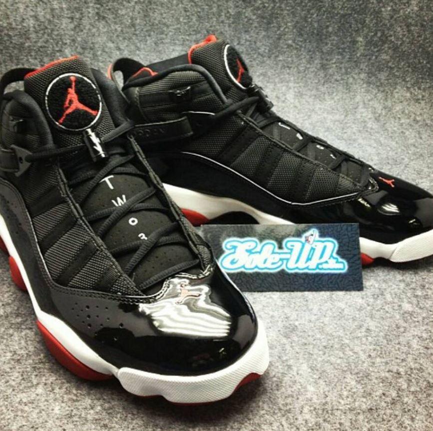 info for 8303d 8af74 Air Jordan Bred 6 Rings Sneaker Retro In 2013