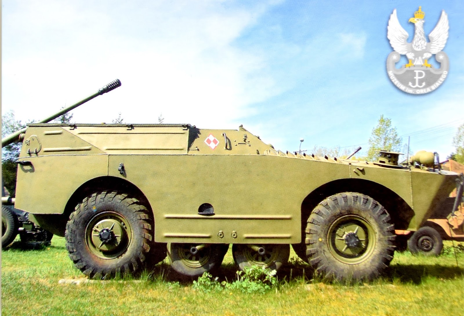 samochód rozpoznawczy z okresu po II wojnie światowej BRDM-1