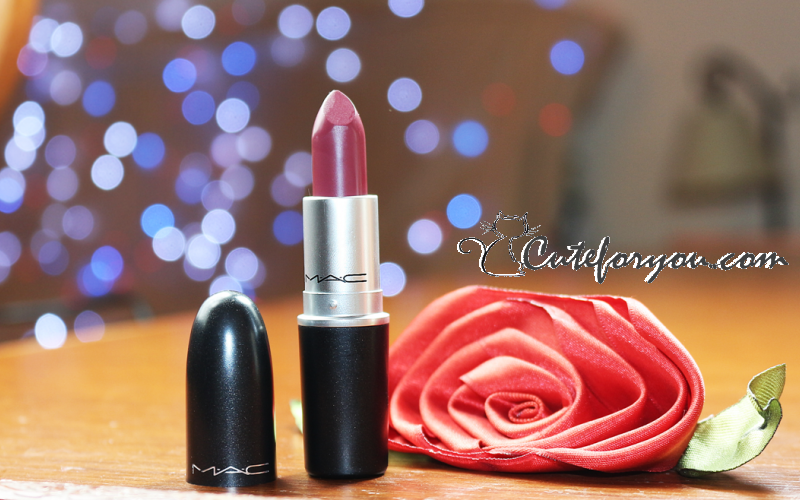 amorous mac cosmetics, amorous mac lipstick, amorous mac review, amorous swatch mac, amorous review mac, amorous mac image, amorous mac reseña, amorous mac opinión, beauty blogger argentina, cute for you, karolina luke