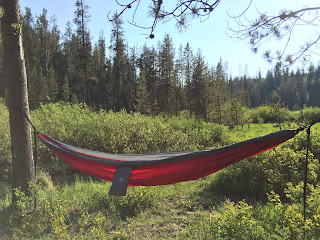 Top Rope Hammock in Trees