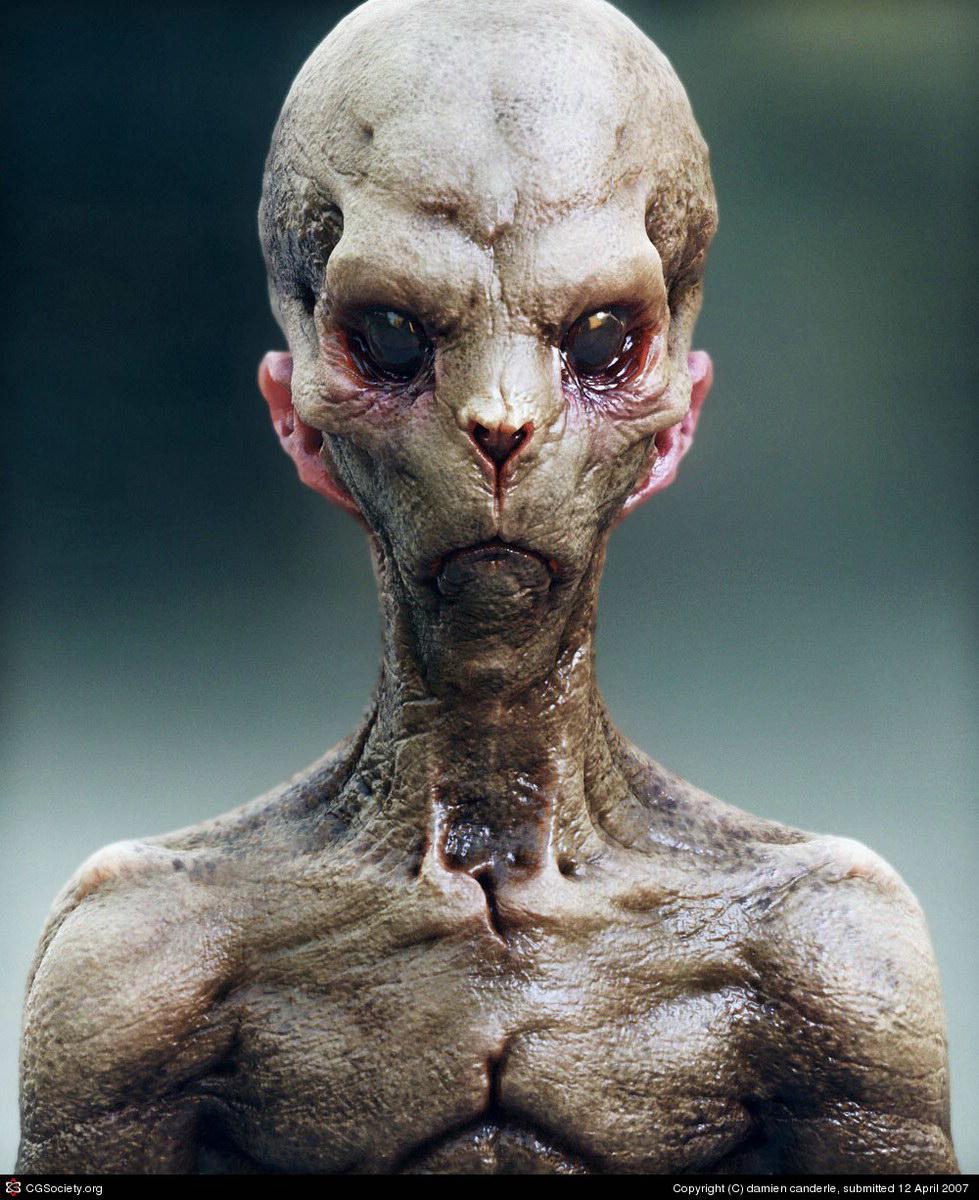 Modelo 3D Alien