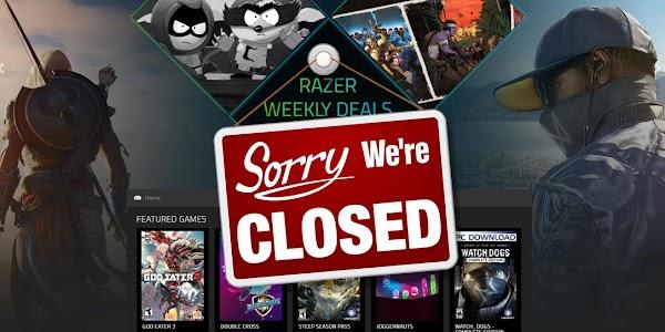 Setelah sepuluh bulan diluncurkan, Razer Game Store akan ditutup 28 Februari