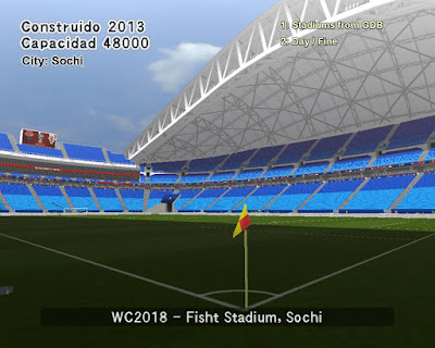 PES 6 Stadiums Fisht Olympic Stadium ( World Cup 2018 )