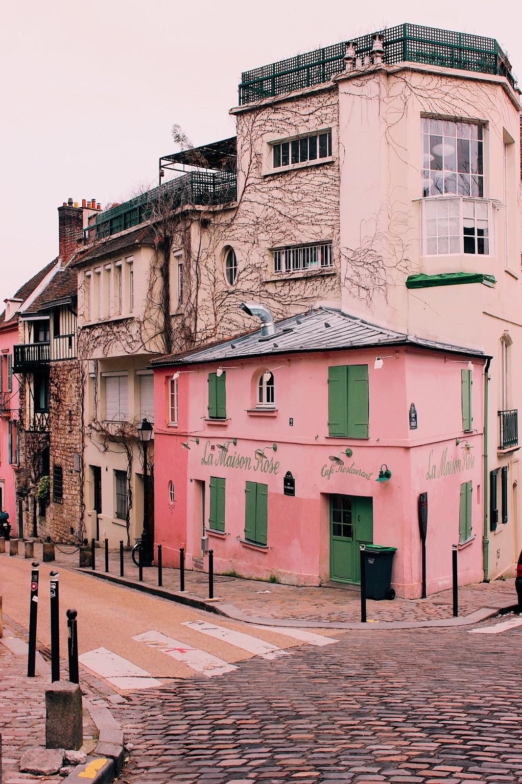 24 hours in paris, a day in paris, how to spend the most perfect 24 hours in paris, paris, travel guide,  la maison rose, montamarte