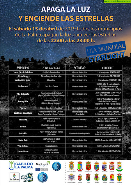 """BREÑA BAJA: Concierto de """"Adversos"""" por el Día Mundial de Starlight"""