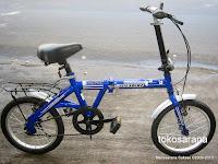 Sepeda Lipat DoesBike 1601 Convoy 16 Inci