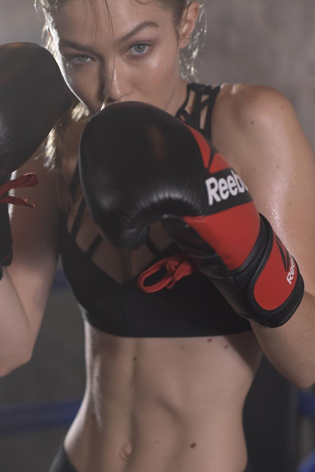 Gigi Hadid for Reebok 'Perfect Never'
