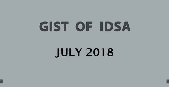 GIST of IDSA July 2018