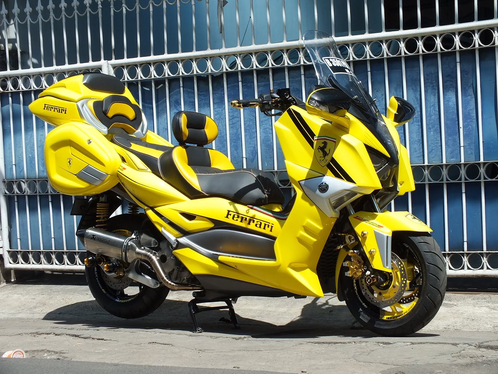 Koleksi Modifikasi Yamaha Xmax
