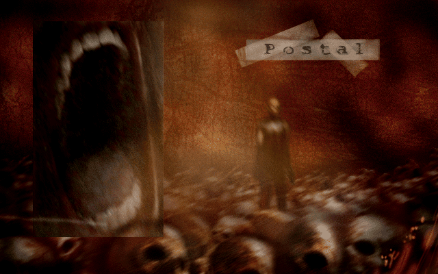 Postal title screen