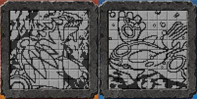 Les fresques du jeu pokemon picross