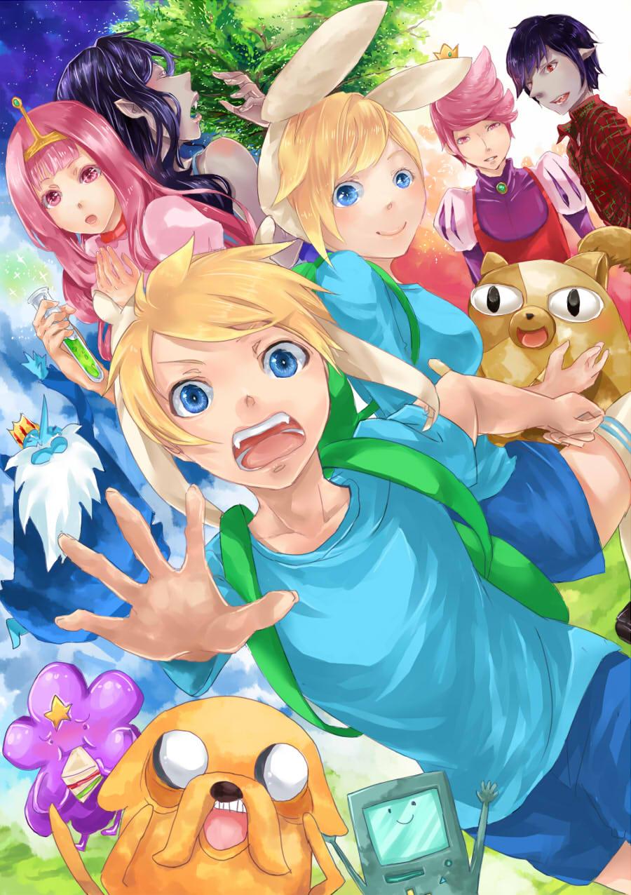 Animes e Otakus : Hora de Aventura Anime Wallpapers 6/20