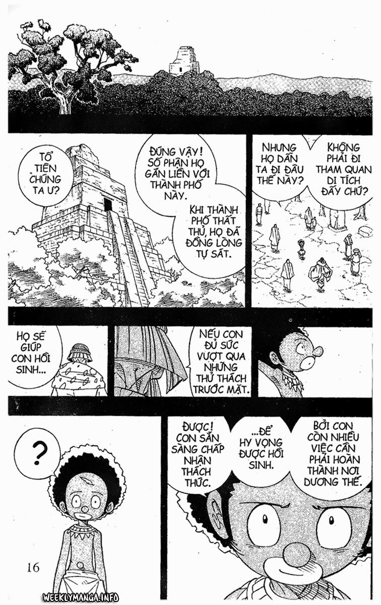 Shaman King [Vua pháp thuật] chap 204 trang 20