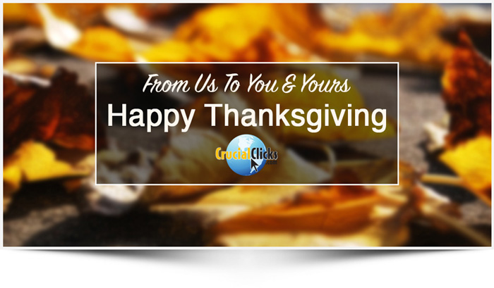From Us To You & Yours - Happy Thanksgiving