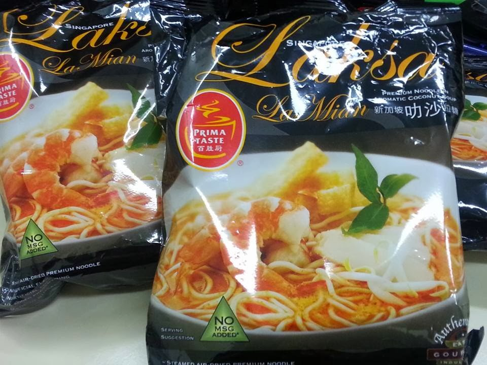 Sandy Mama @ MOONmoon's Kitchen : 百勝廚~新加坡叻沙拉麵