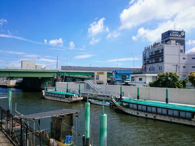 旧江戸川 妙見島