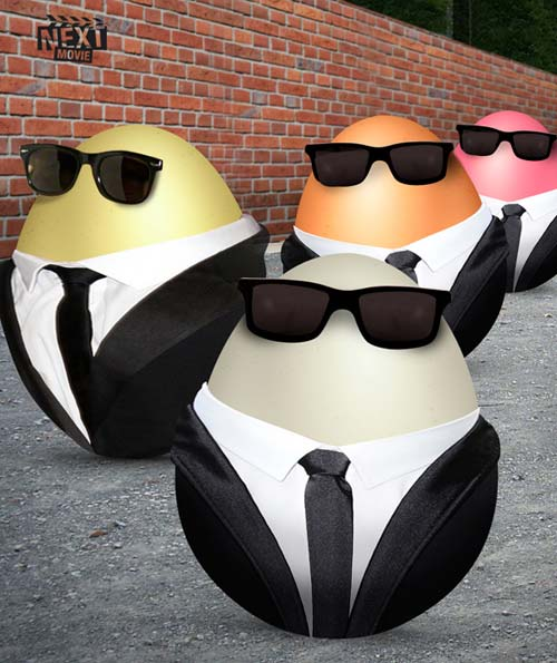 Movie-Inspired Easter Eggs