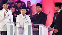 Jokowi-Ma'ruf vs Prabowo-Sandi, Siapa Pemenang Debat Bagi Netizen?