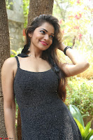 Aswini in lovely Deep Neck Sleeveless Black Dress Spicy Pics ~  Exclusive 25.JPG