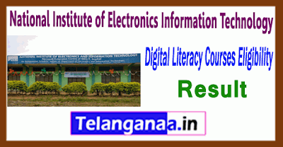 NIELIT National Institute of Electronics  Information Technology Result