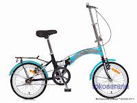 Sepeda Lipat UNITED STYLO 16 Inci