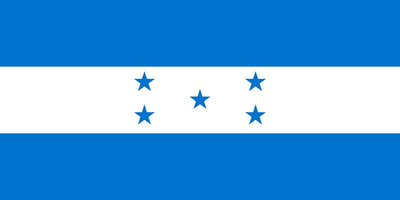 Logo Gambar Bendera Negara Honduras PNG JPG ukuran 800 px