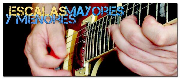 Guía de Escalas en Guitarra