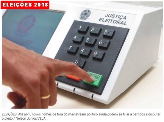 Começa 2018, o ano de eleições no Brasil