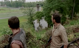 Daryl Dixon & Rick Grimes at the prison