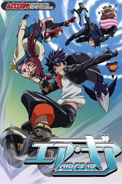 Air Gear (25/25) [Audio Castellano] [DVDrip 480p]