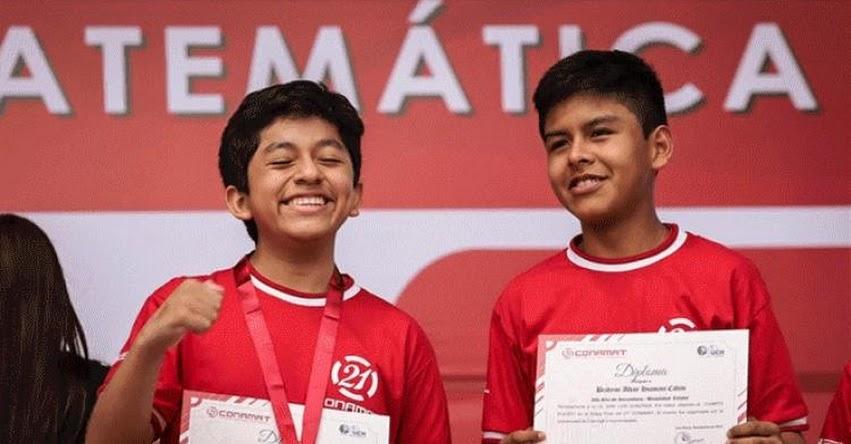 CONAMAT 2018: Más de 1400 escolares compitieron en la final del Concurso Nacional de Matemáticas [RESULTADOS - GANADORES] www.conamat.edu.pe