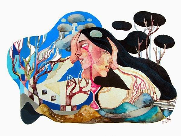 Trabajo artistico de Gel Jamlang.