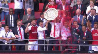 Arsenal Juara Community Shield 2017