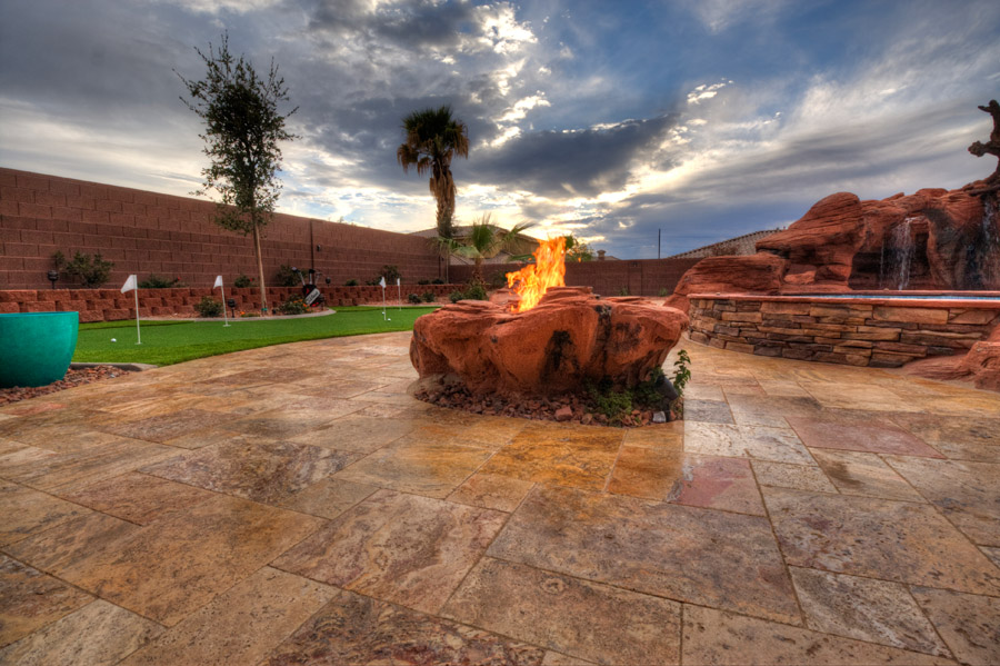 Gas Piping Gas Tiki Torches Salt Lake Provo St George Utah Fire Pits Underground Gas Piping
