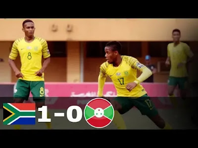 South Africa vs Burundi 1-0 Football Highlights & Goals AFCON 2019