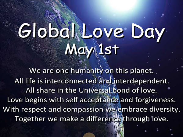 Global Love Day - Love Begins With Me