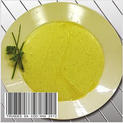 Sopa de Alho Saborosa Prática