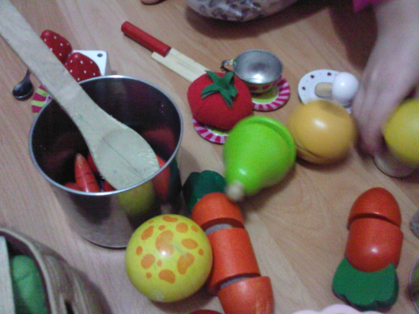 puinen leikkiruoka
