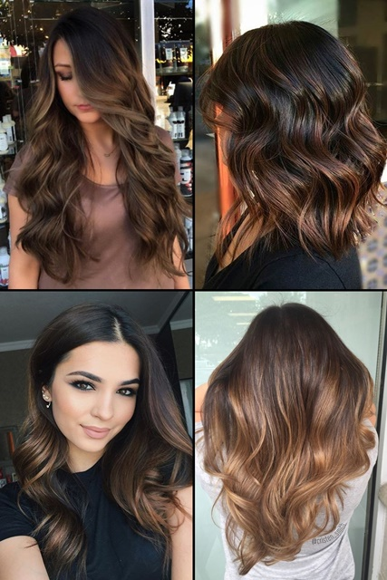 12 flattering dark brown hair with caramel highlights hairstyles top 15 chocolate brown hair with highlights pmusecretfo Images