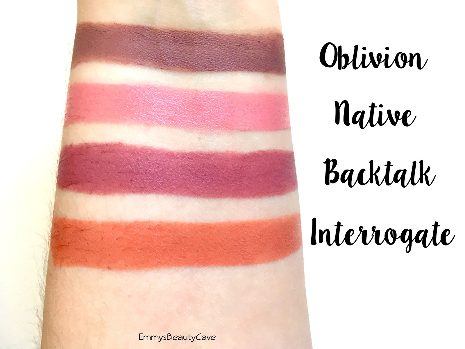 Extrêmement Urban Decay Vice Lipsticks Review And Swatches | EmmyWritesAbout OA04