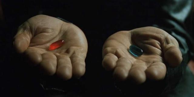 Escena de la película 'Matrix'